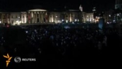 Лондон ва Вашингтонда намойишчилар полиция билан тўқнашди