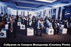 Dvadeset godina kasnije: Zvaničnici na obeležavanju 20. godišnjice potpisivanja Ohridskog sporazuma, Skoplje, 13. avgust 2021.