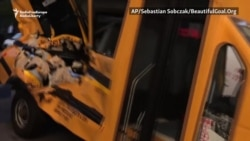 New York School Bus Hit By Uzbek Suspect