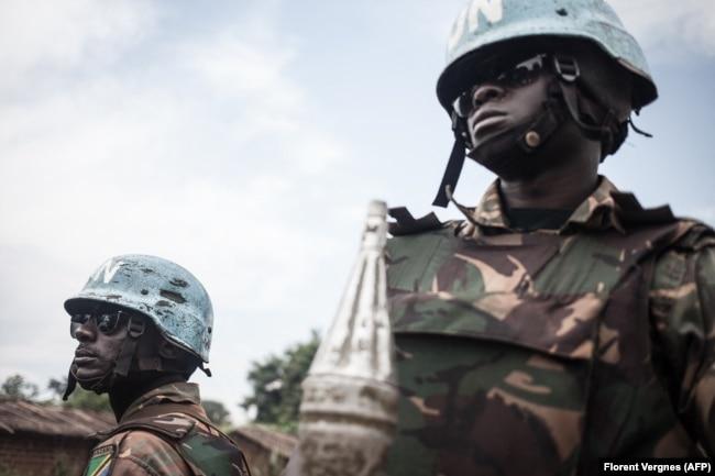 Танзанийские военнослужащие из состава миротворческого контингента ООН в ЦАР MINUSCA. 2019 год