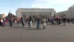 """No comment: """"Protestul copiilor"""" împotriva corupției, astăzi la București"""