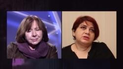 """""""Женщин сажают, женщин пытают"""". Разговор Светланы Алексиевич с Хадиджей Исмайловой"""