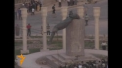 Archival Footage: Statue Of Saddam Pulled Down In Baghdad