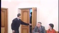 Александр Макаров в суде. Томск. 2010