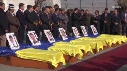 Відправлення в Україну тіл загиблих під час теракту в Кабулі (відео)