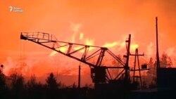 Из-за лесных пожаров в Сибири сгорели 170 домов