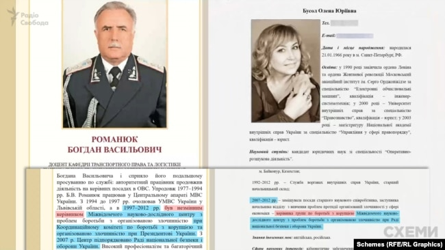 Члени комісії Романюк і Бусол з 2007 по 2012 роки працювали разом в одній аналітичній організації, яка по суті була робочим органом для РНБО – секретаркою якого на той час була Раїса Богатирьова