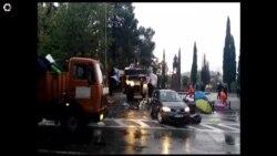 Policija u Podgorici prekinula demonstracije DF