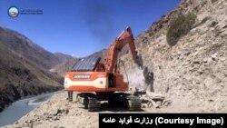 آرشیف٬ ساخت سرک میان چین و افغانستان