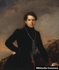 Портрет писателя А.Н. Муравьева