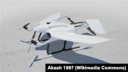 """""""Вингкоптер"""" компаниясынын дрону. 23.3.2020."""