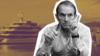 Віктор Медведчук на тлі своєї яхти «Романс 1». Колаж