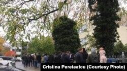 Berlin, coada la vot se întinde pe sute de metri
