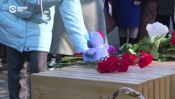 Russian City Remembers Mall Fire Victims