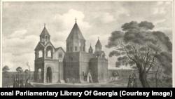 Редкие иллюстрации, сделанные исследователем, который два столетия назад путешествовал по территории современных Армении, Грузии и Азербайджана, делая зарисовки.