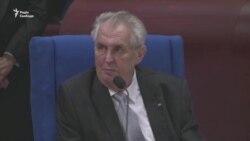 Президент Чехії: Росія могла б компенсувати Україні втрату Криму (відео)