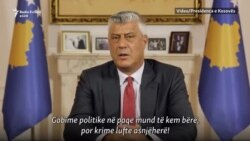 Thaçi: Gabime politike edhe mund të kem bërë, por krime të luftës kurrë