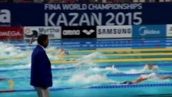 Казанда Дөнья су спорты чемпионаты йөзү белән дәвам итә