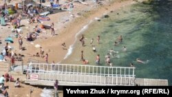«Мармуровий»: пляж у Балаклаві, на якому заборонено купатися (фотогалерея)