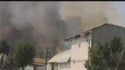 Homes Burn In Osh