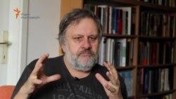სლავოი ჟიჟეკი ესაუბრება საქართველოს