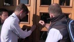 На сесію міськради Харкова не пустили активістів (відео)