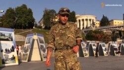 Доброволець полку спецпризначення «Азов», громадянин Ізраїлю Григорій Пивоваров
