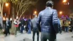 اعتراض خیابانی در اصفهان، نهم دیماه