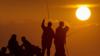 Рыбаки в Севастополе, иллюстрационное фото