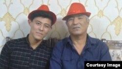 Хуррам Бердиев с сыном