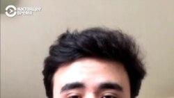 Таджикистанец в Милане поет для итальянцев, которые сидят в карантине