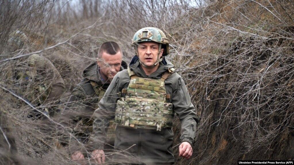 Робоча поїздка президента України Володимира Зеленського на Донбас, 8 квітня 2021 року