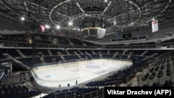 Минскдаги хоккей аренаси