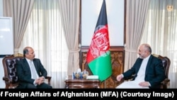د افغانستان د بهرنیو چارو وزیر په کابل کې د پاکستان له سفیر سره ولیدل