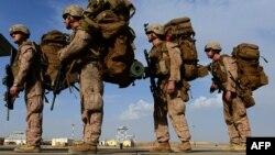 آرشیف، نیروهای امریکایی در حال خروج از افغانستان