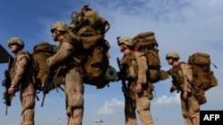 U.S. troops in Helmand Province. (file photo)