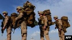 آرشیف٬ شماری از نیروهای امریکایی در افغانستان
