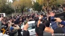 Բողոքի բազմահազարանոց ակցիաներ Իրանի ադրբեջանաբնակ քաղաքներում