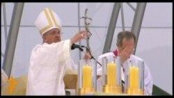 Папа Римський провів прощальну месу у Бразилії