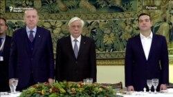 Грција и Турција разменија обвинувања за време на посетата на Ердоган