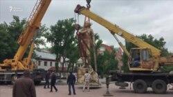 Спор вокруг памятника Маншук Маметовой