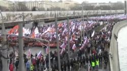 Moskva: Marš sećanja za Nemceva