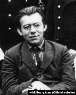 Дмитро Чижевський у молоді роки