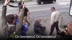 Драка против провокации. Как голосовали в Киеве