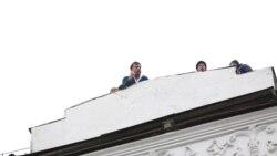 Ucrainenii încearcă să împiedice arestarea lui Mihail Saakashvilii la Kiev