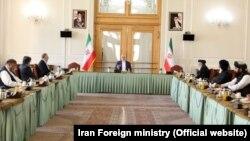 هیئت سیاسی گروه طالبان در کشور ایران