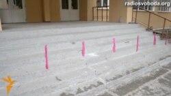 Закрытые избирательные участки в Луганске