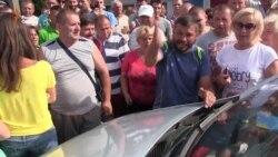 Українсько-польський кордон на Львівщині: бійки, хамство, блокування дороги (відео)