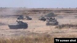 Техніка Збройних сил України на полігоні під Миколаєвом, 17 вересня 2020 року