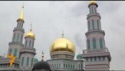 Мәскәү Җәмигъ мәчете тирәсендә соңгы төзелеш эшләре кайный